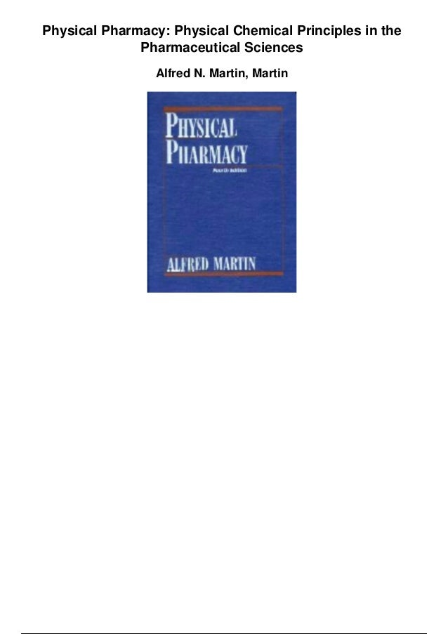 Sciences pharmaceutical physical pdf martins and pharmacy