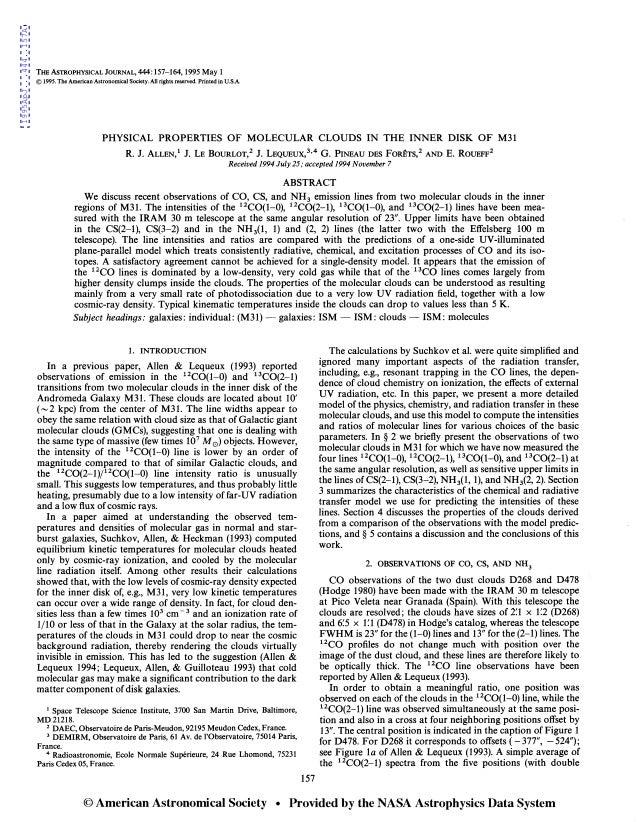 1995ApJ...444..157A