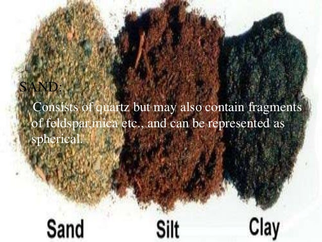 Physical properties of soils for Soil ribbon test