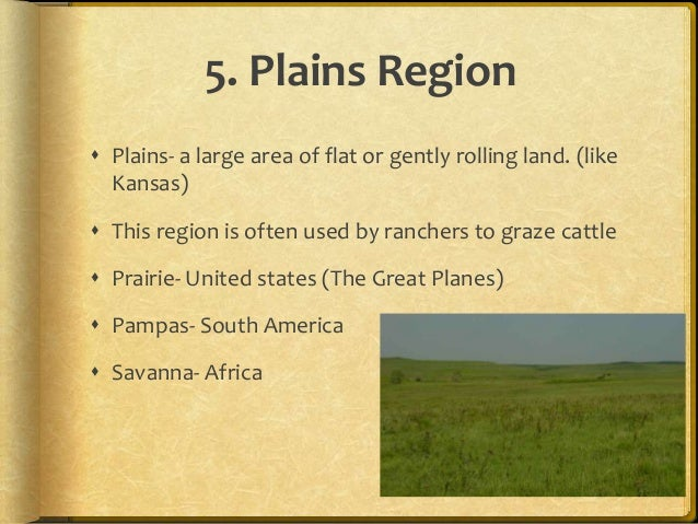 Physical Regions And Landforms