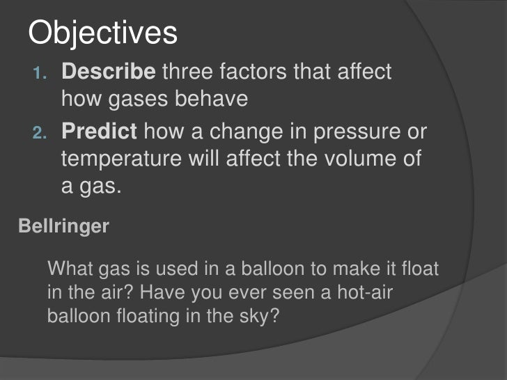 Physical Science 2 2 Behavior Of Gases