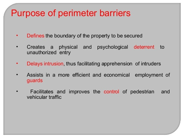 1. Solid 2. Full-view Types of fencing