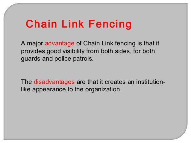 8. All bolts and nuts holding hardware attachment on the fence should be welded 9. Gates in the fence-line should be as hi...