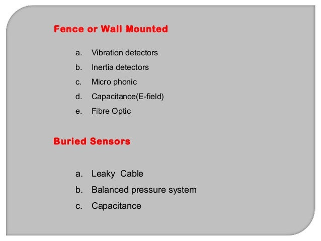 Types of alarm detection are: Local Alarm Systems- Protective circuits activate a visual or audible signal in the immediat...