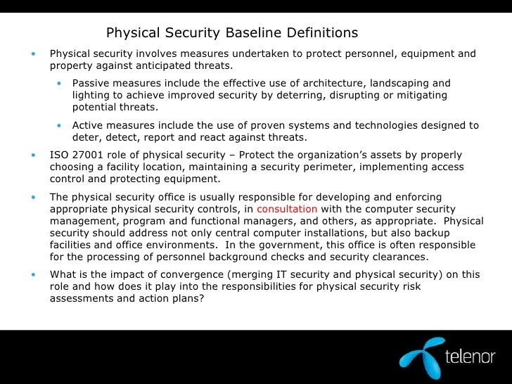 how to become a physical security consultant