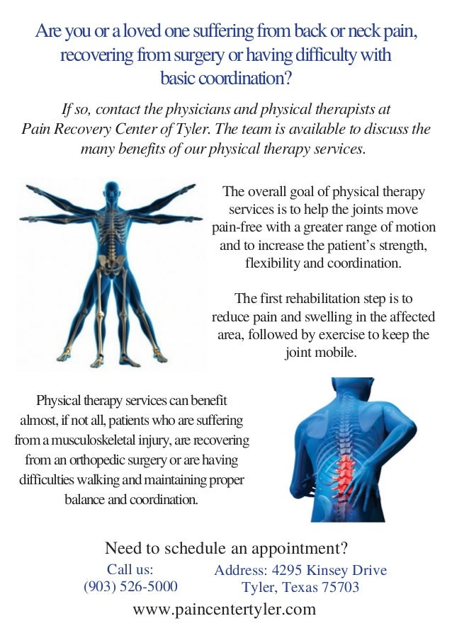 physical therapy services rehabilitation tyler tx