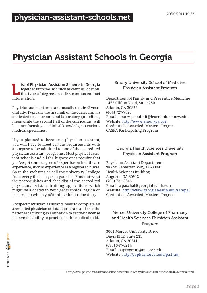 20/09/2011 19:53                 physician-assistant-schools.net                Physician Assistant Schools in Georgia    ...