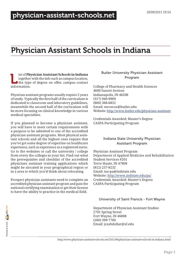 20/09/2011 19:54                 physician-assistant-schools.net                Physician Assistant Schools in Indiana    ...