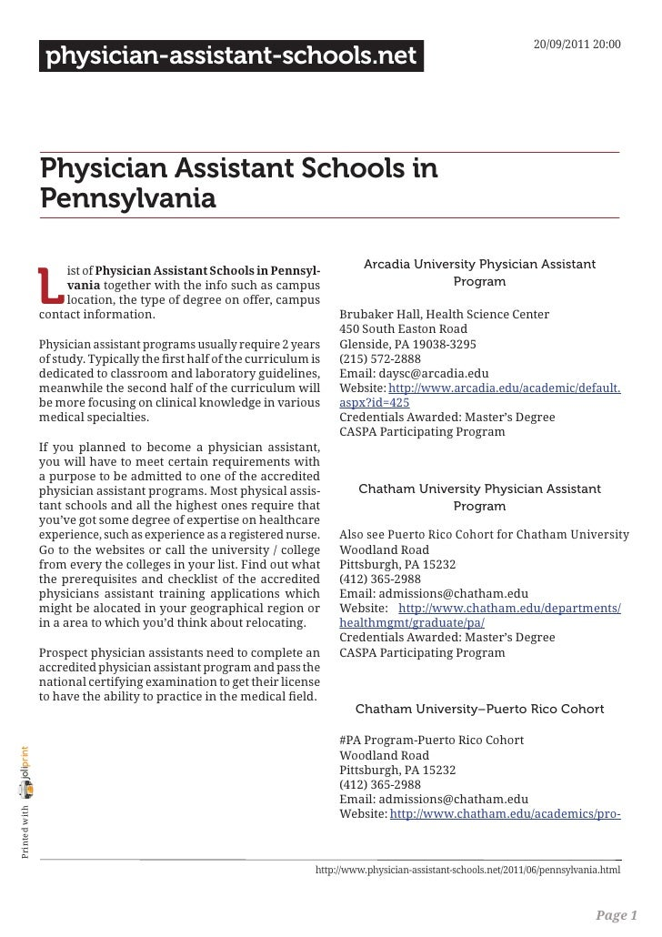 20/09/2011 20:00                 physician-assistant-schools.net                Physician Assistant Schools in            ...