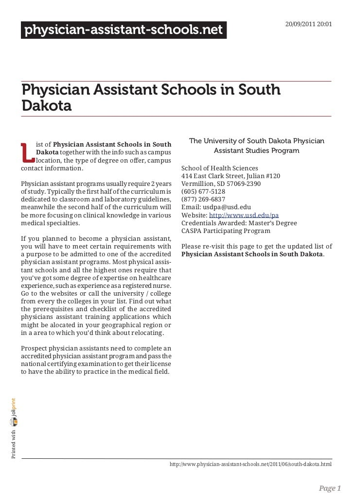 20/09/2011 20:01                 physician-assistant-schools.net                Physician Assistant Schools in South      ...