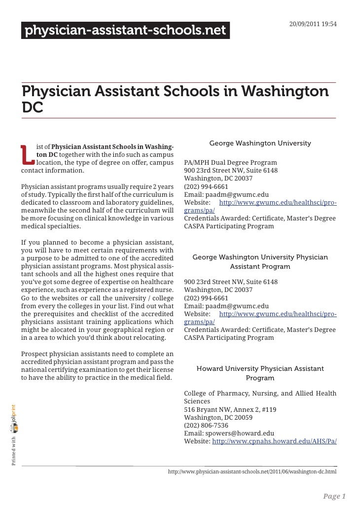 20/09/2011 19:54                 physician-assistant-schools.net                Physician Assistant Schools in Washington ...