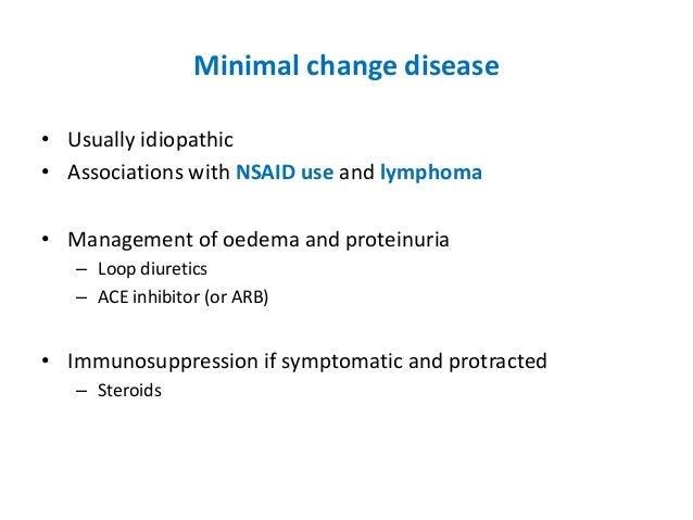 steroid dependent minimal change nephrotic syndrome
