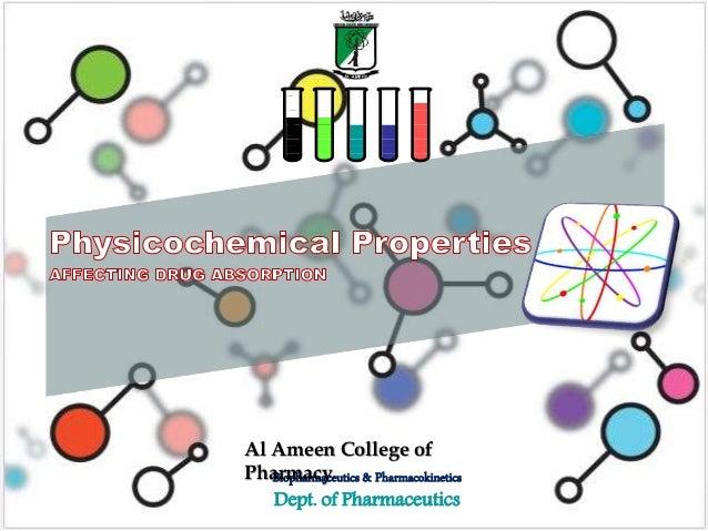 Al Ameen College of  Pharmacy  Biopharmaceutics & Pharmacokinetics  Dept. of Pharmaceutics