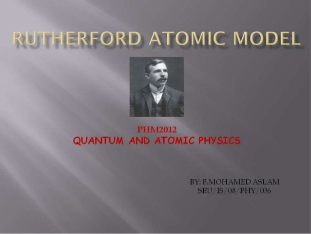 Physics,Quantum and atomic physics