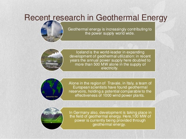 nuclear energy or geothermal energy Geothermal energy is the energy obtained from the earth(geo) from the hot rocks present inside the earth it is produced due to the fission of radioactive materials in the earth's core and some places inside the earth become very hot.