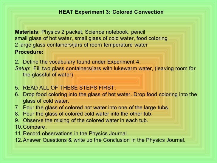 physics2b experiments heat detailed lab experiments on heat transfe. Black Bedroom Furniture Sets. Home Design Ideas