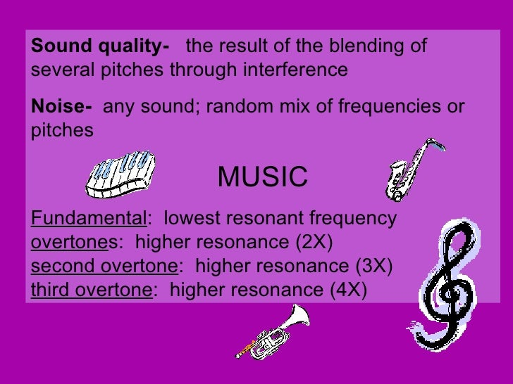 physics of sound essay The physics classroom » physics tutorial » sound waves and music » guitar strings sound waves and music  you can find it in the physics interactives section of.