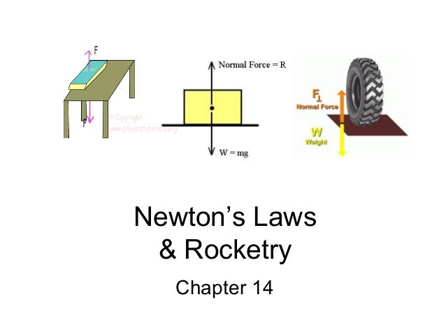 Newton's Laws & Rocketry  Chapter 14
