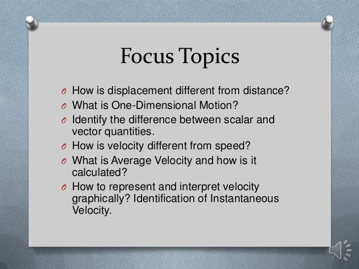 Physics (displacement, distance, speed, velocity) 1 d