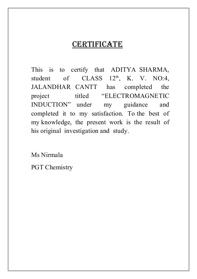 investigatory project physics essay Chemistry projects our physics faculty without whose constructive guidance this project/venture would not have been a success prepare cuprammonium rayon threads from filter paper 2009-2010 chemistry investigatory project ravindra singh xllscb army public school.