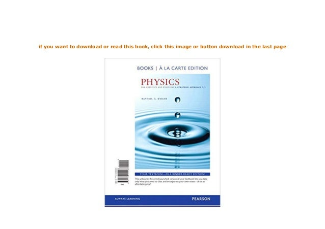 Physics for scientists and engineers 5th pdf