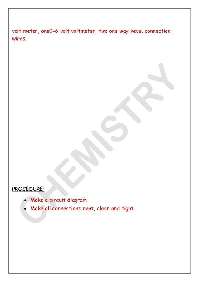 Physics investigatory class 12