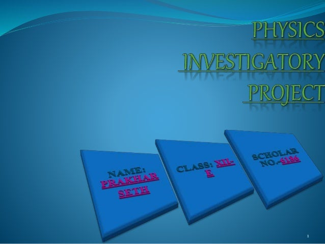 guidelines for investigatory project Best answer: science investigatory project - an investigation about a scientific problem (question) - a problem-solving.