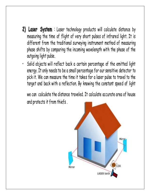 Burglar Alarm Cost >> laser security alarm (Physics investigatory project 12)