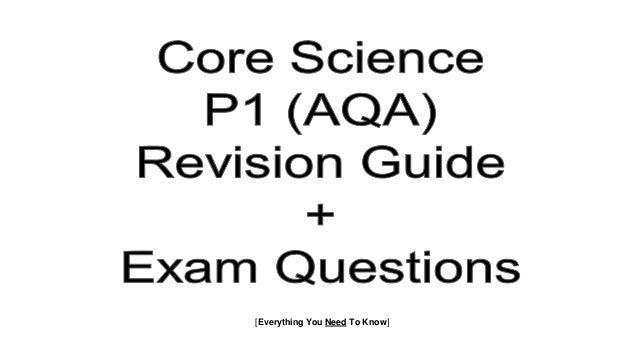AQA GCSE P1