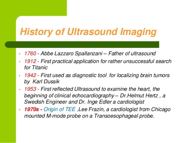 Physics of ultrasound and echocardiography