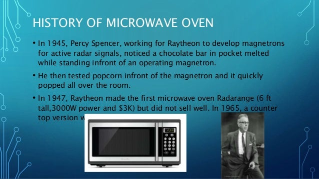 Working Mechanism Of Microwave Oven