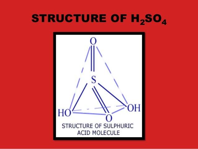 King of acids -Sulphuric Acid H2SO4 Slide 3