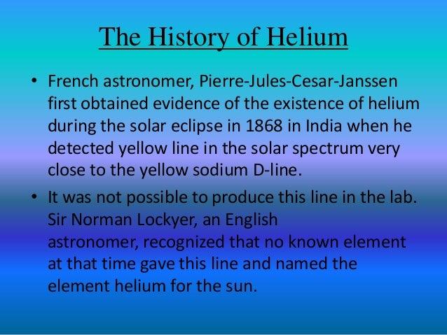short presentation on titanium and helium
