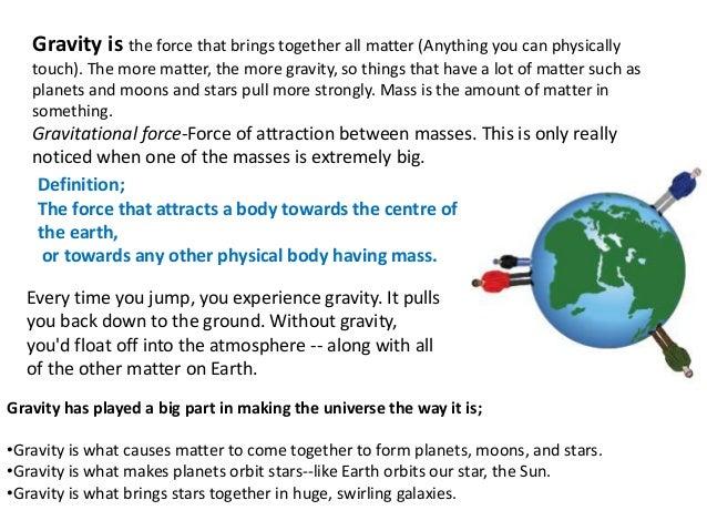 Gravity#SciChallenge2017
