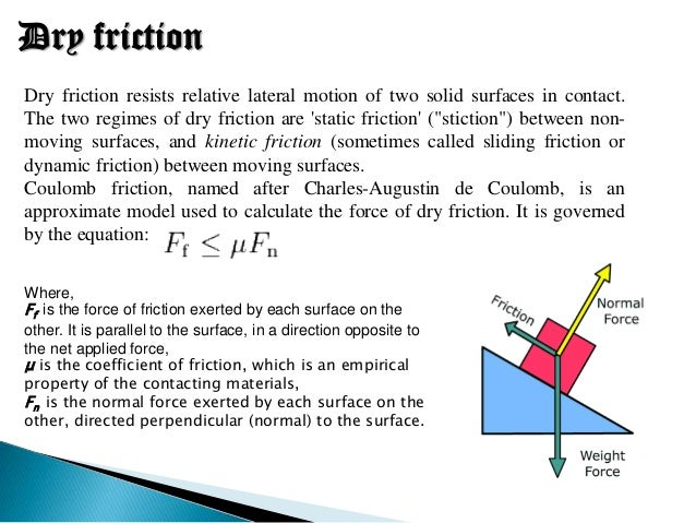 Friction part 1-basic mecanical engineering-lecture slides docsity.