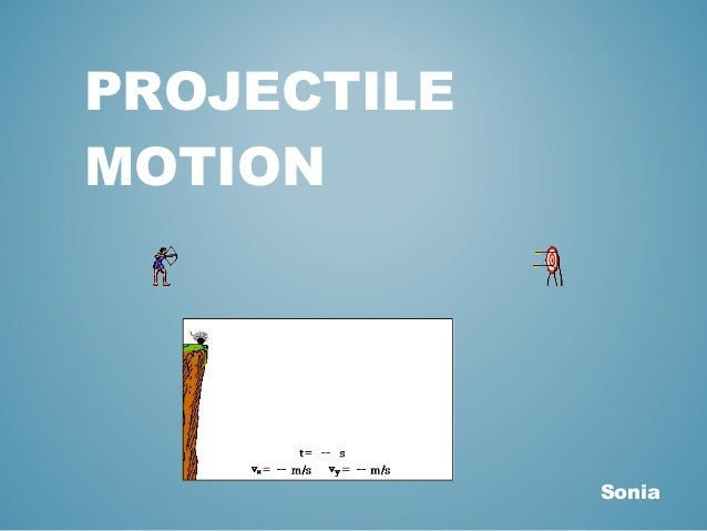 projectile motion coursework Projectile motion experiment 1 - download as word doc (doc / docx), pdf file (pdf), text file (txt) or read online.