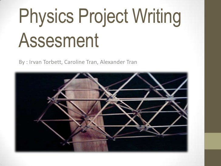 physics projects Aplusphysics is an online resource for students taking ap physics 1, ap physics 2, ap physics c, regents physics, and honors physics.