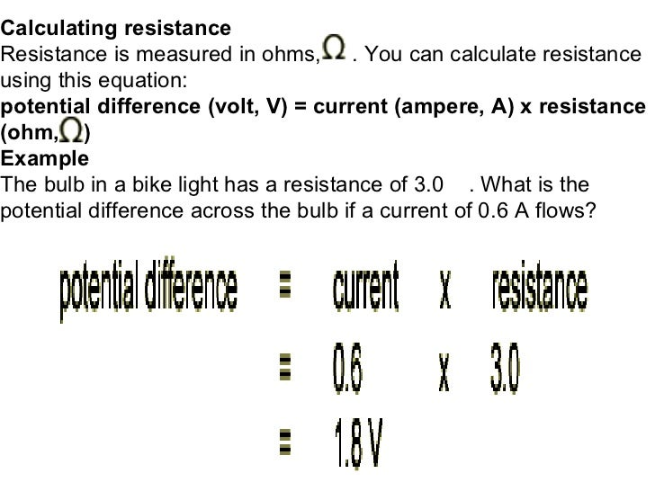 Important helpful physics notesformula must see calculating resistance resistance sciox Choice Image