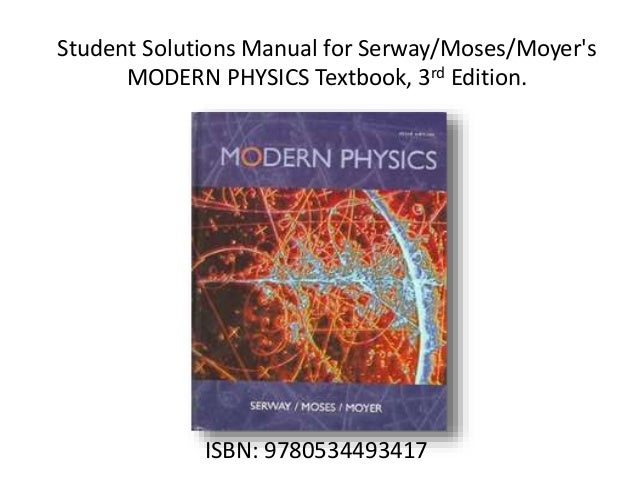 Modern physics for scientists and engineers 2nd edition pdf dolap modern physics for scientists and engineers 2nd edition pdf solution manuals of physics fandeluxe Image collections