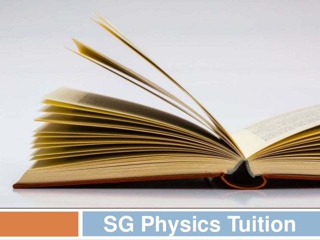 SG Physics Tuition