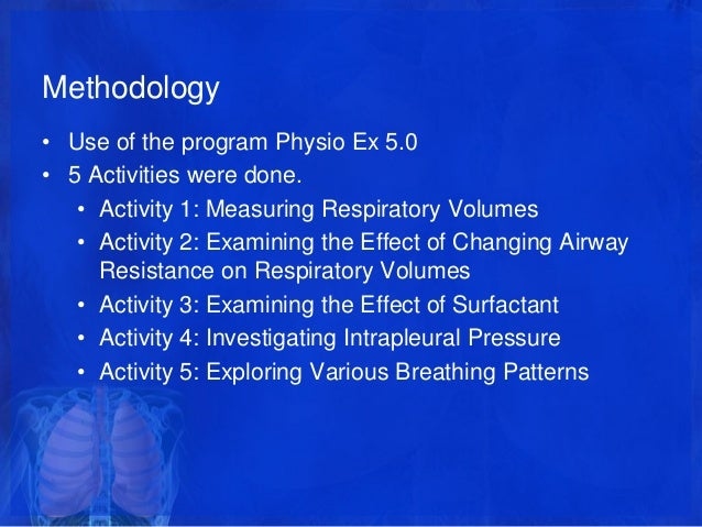 physioex 9.0 exercise 2 activity 3