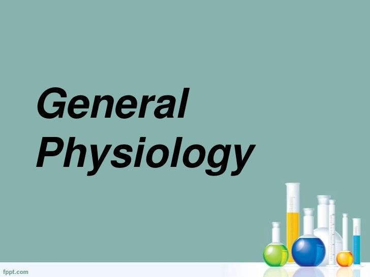 GeneralPhysiology