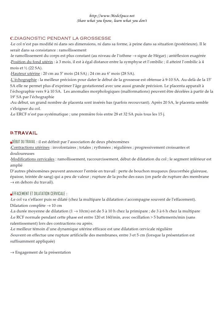 Physiologie De La Grossesse Slide 3