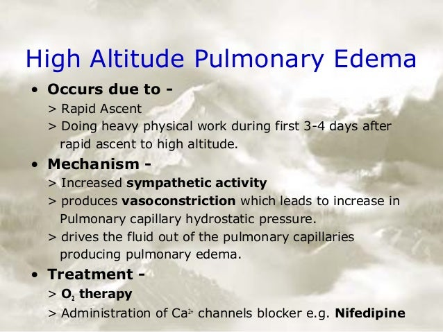 Physiology Of High Altitude
