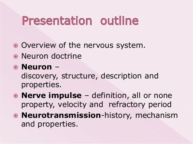 Physiology of neurotransmission Slide 2