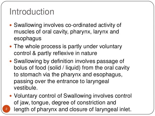 Physiology swallowing & functional investigations of upper git Slide 2
