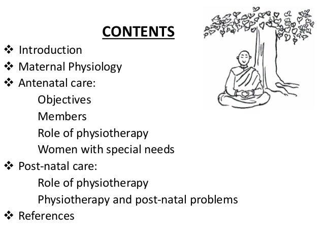 Antenatal & postnatal care through physiotherapy  authorstream.