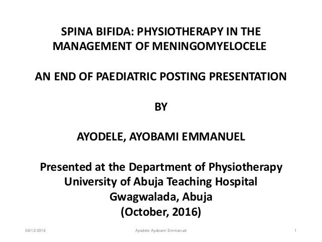 spina bifida: physiotherapy in the management of meningomyelocele, Skeleton
