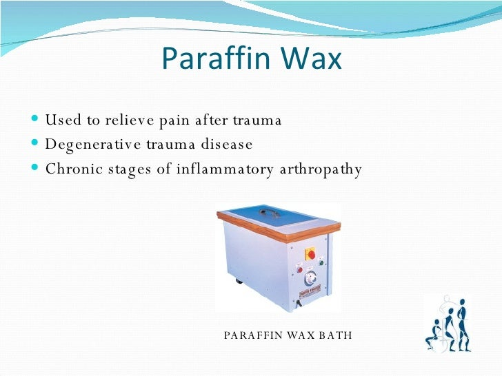 wax therapy physiotherapy ppt