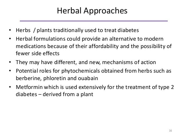 Phyto Solutions For The Treatment Of Diabetes Sept 2015